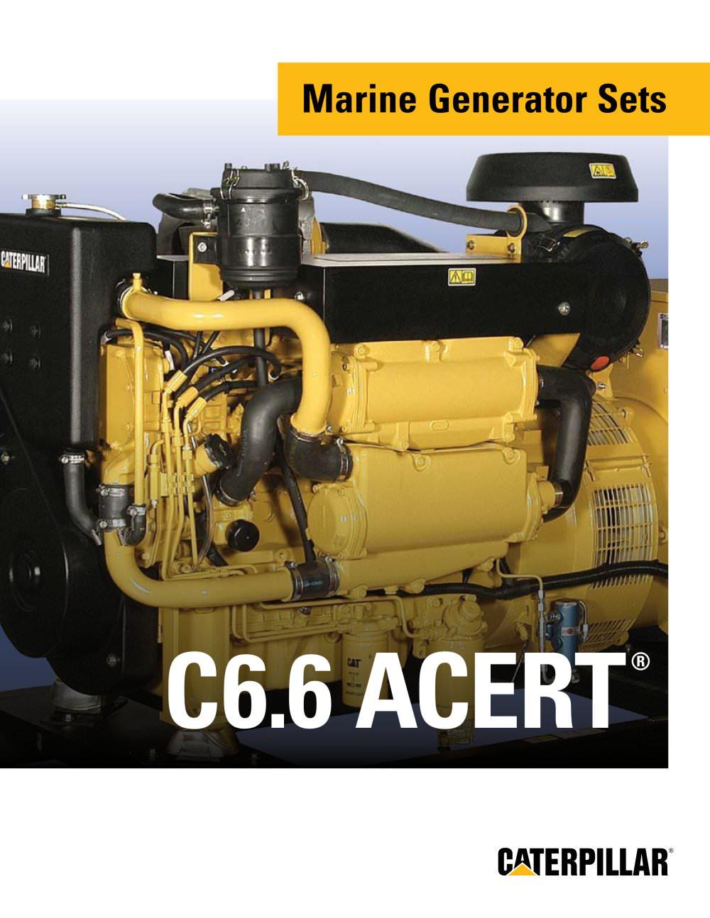 Brochure - Cat C6-6 ACERT Marine Gensets - 1 / 6 Pages