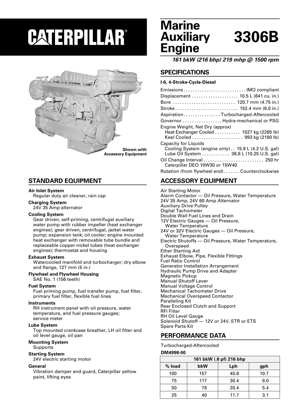 Cat 3126 Marine Service Manual User Guide That Easy To Read Engine Diagram 3306b Dita Auxiliary Caterpillar Power Systems Pdf Rh Nauticexpo Com Problems
