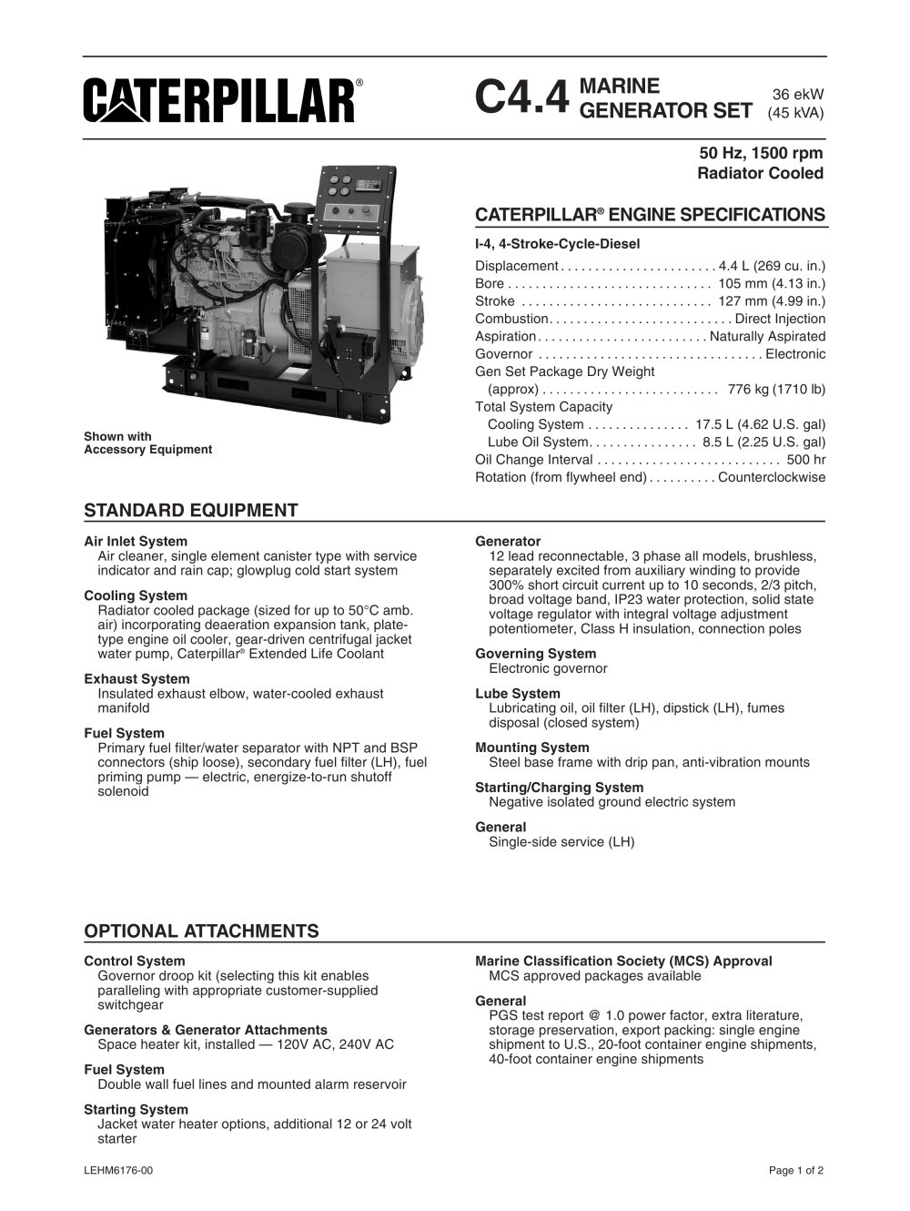 cat c4 4 radiator cooled spec sheets 52919_1b cat c4 4 radiator cooled spec sheets caterpillar marine power RJ45 Wiring-Diagram at panicattacktreatment.co