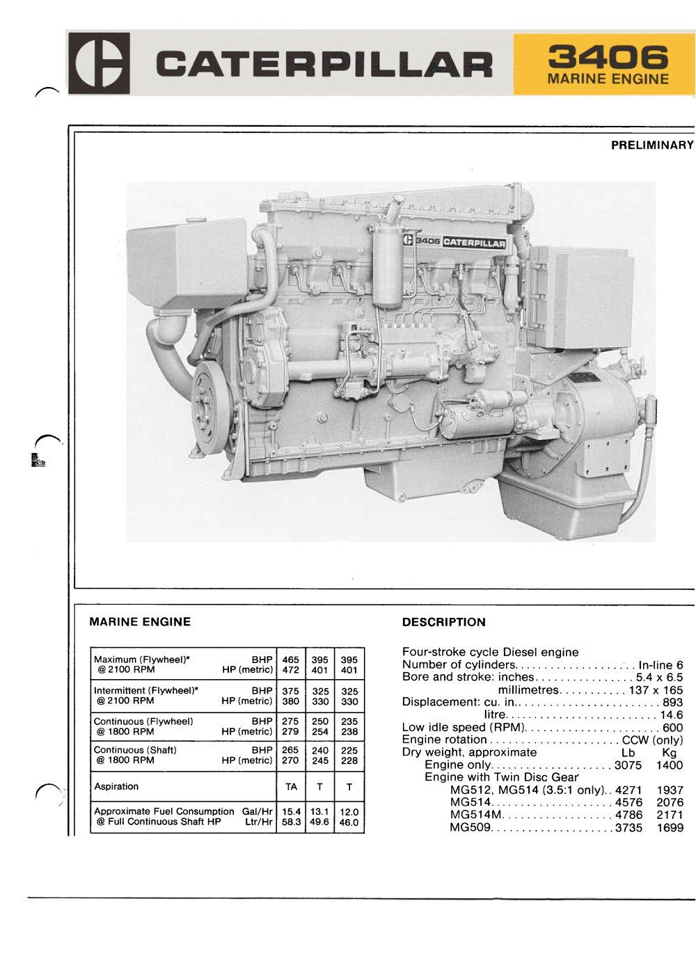 cat d3406 propulsion caterpillar marine power systems pdf Cat 3406E Engine Sensors  Cat 3406E Problems Cat 3126 Fuel System Diagram Cat C15 Diagram