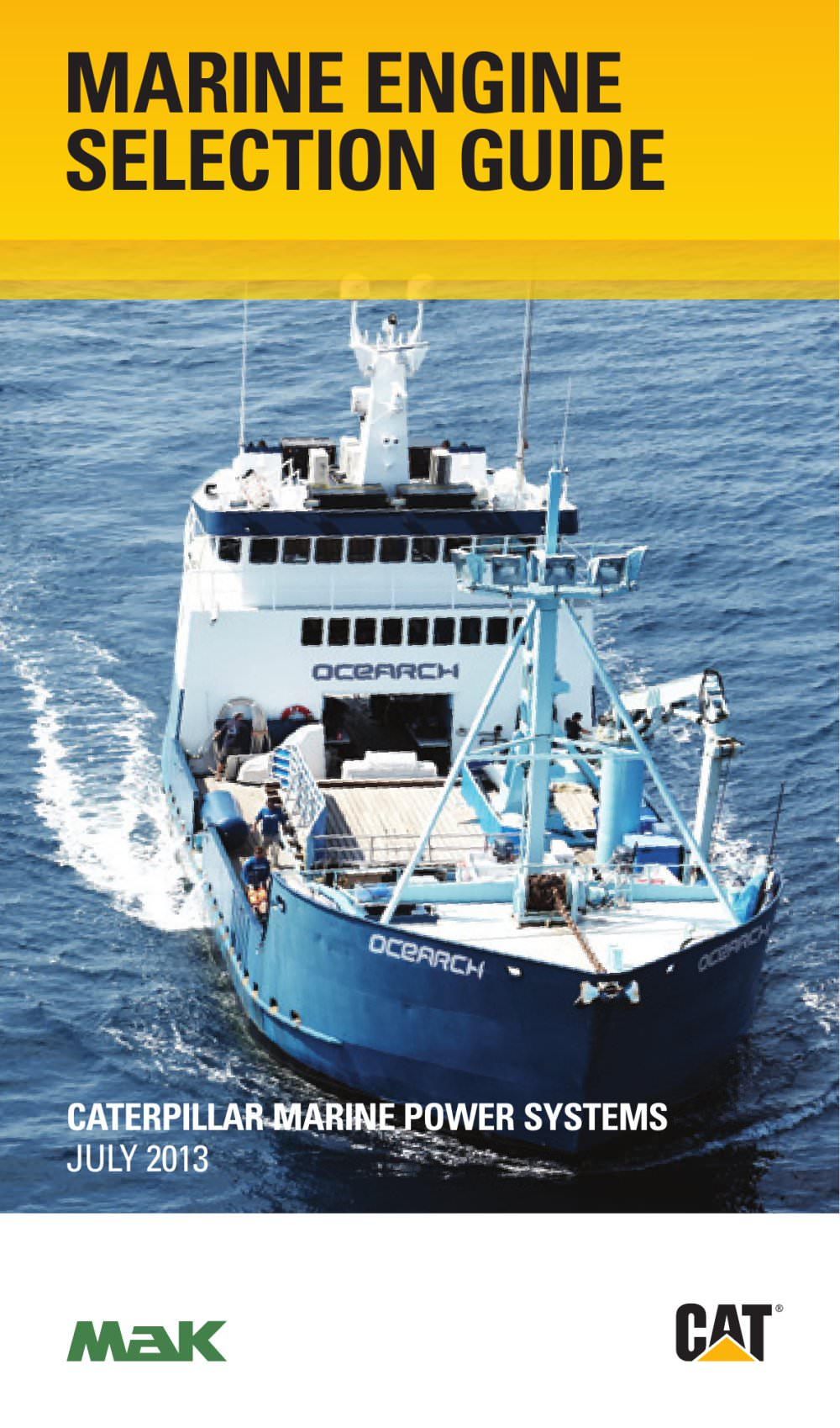 marine engine selection guide caterpillar marine power systems rh pdf nauticexpo com Caterpillar Diesel Generator caterpillar generator installation guide pdf