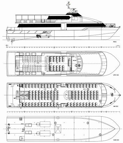 28-32m Passenger Ferry