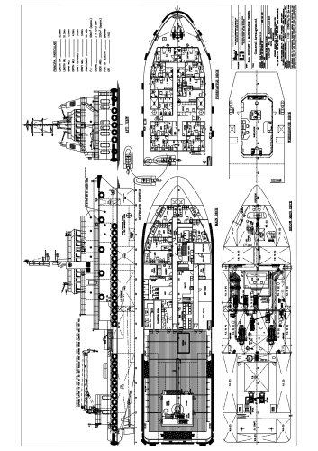 54M Work/Maintenance Vessel
