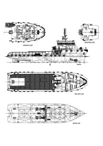 58M Anchor Handling Tug/Supply Vessel