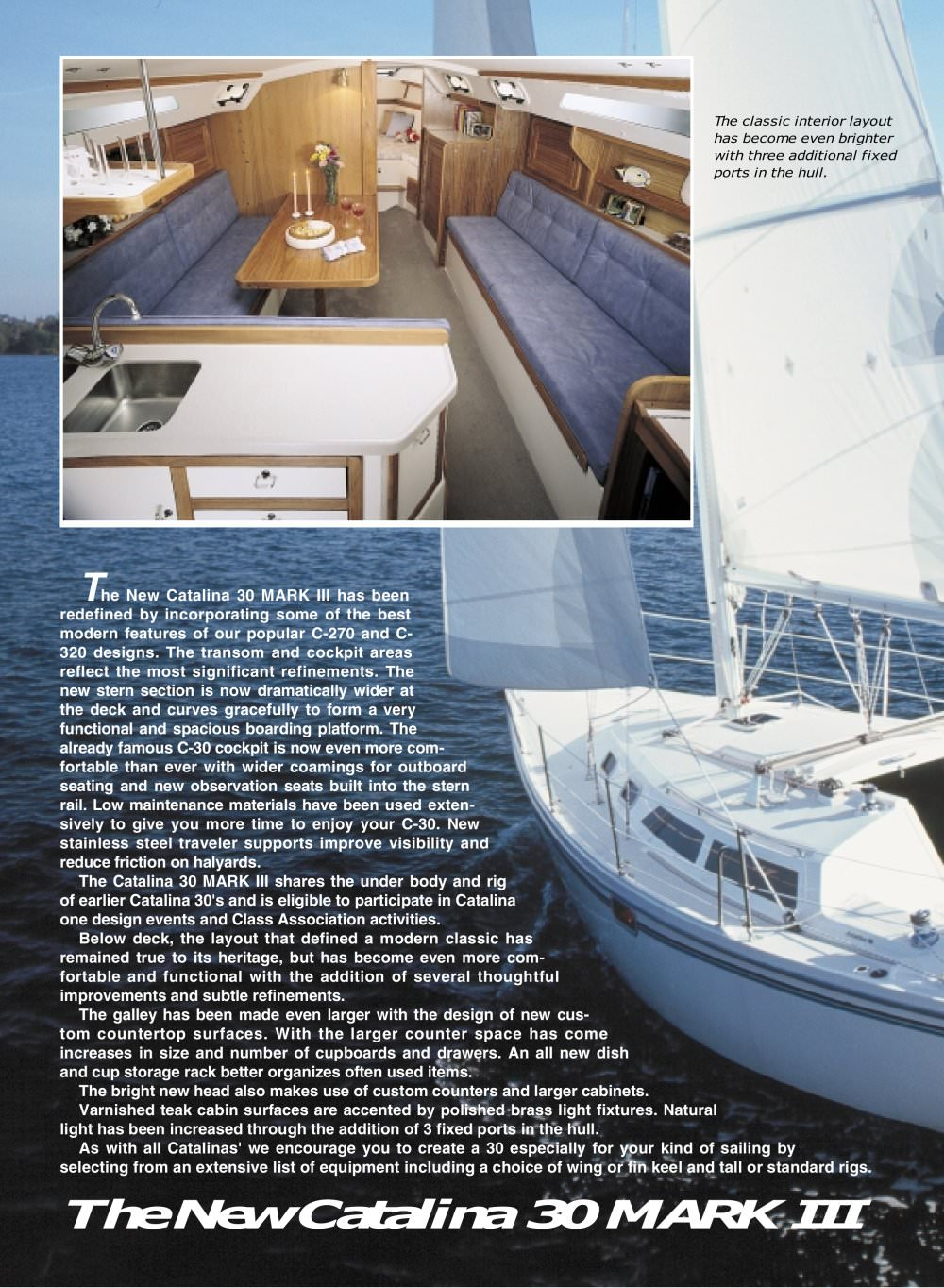 See other catalogues for Catalina Yachts. You may also be interested in