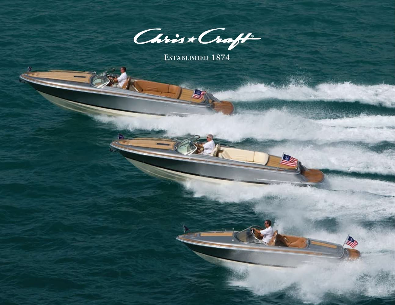CHRIS-CRAFT FULL LINE CATALOGUE 2011 - Chris Craft