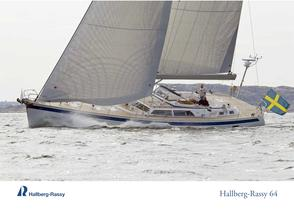 Hallberg-Rassy 64 Colour brochure