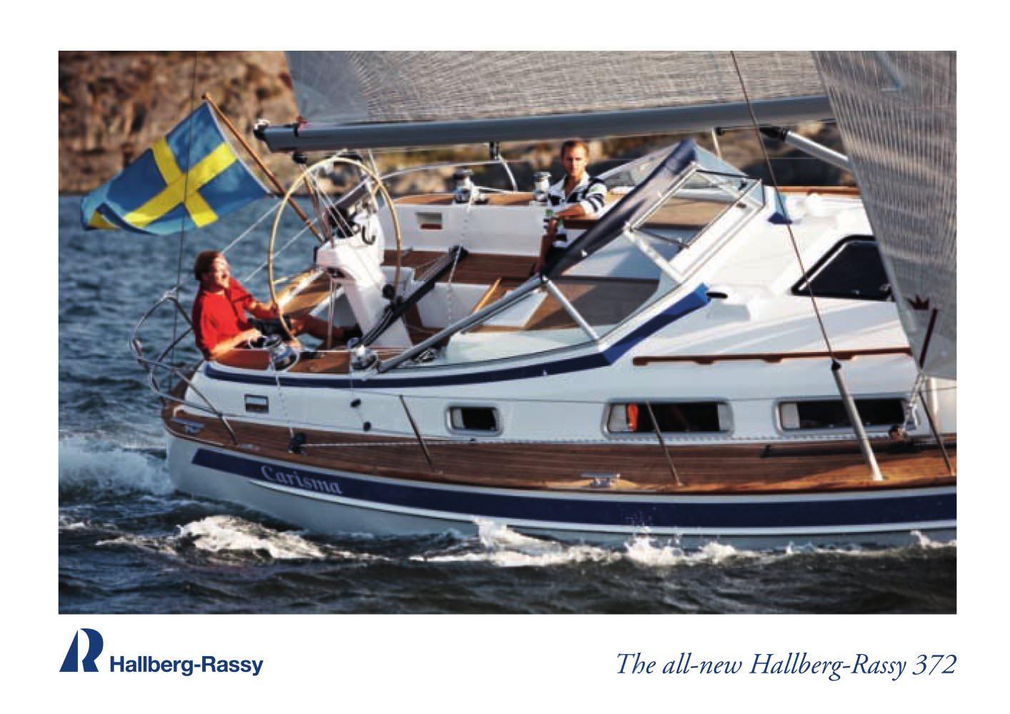 The all-new Hallberg-Rassy 372