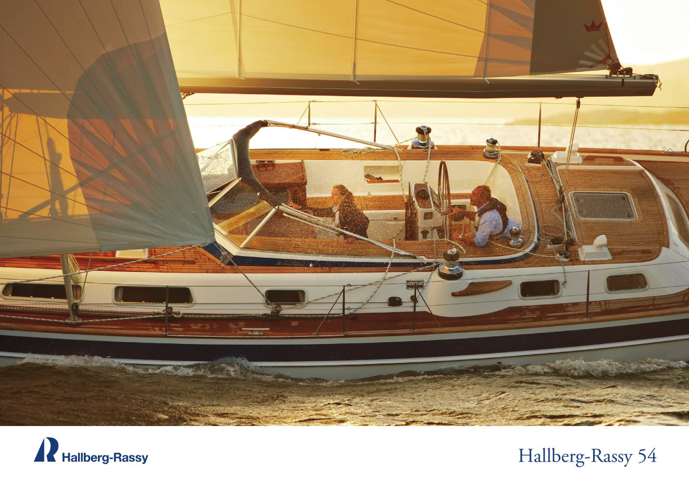 HR 54 - Hallberg-Rassy. See other catalogues for Hallberg-Rassy