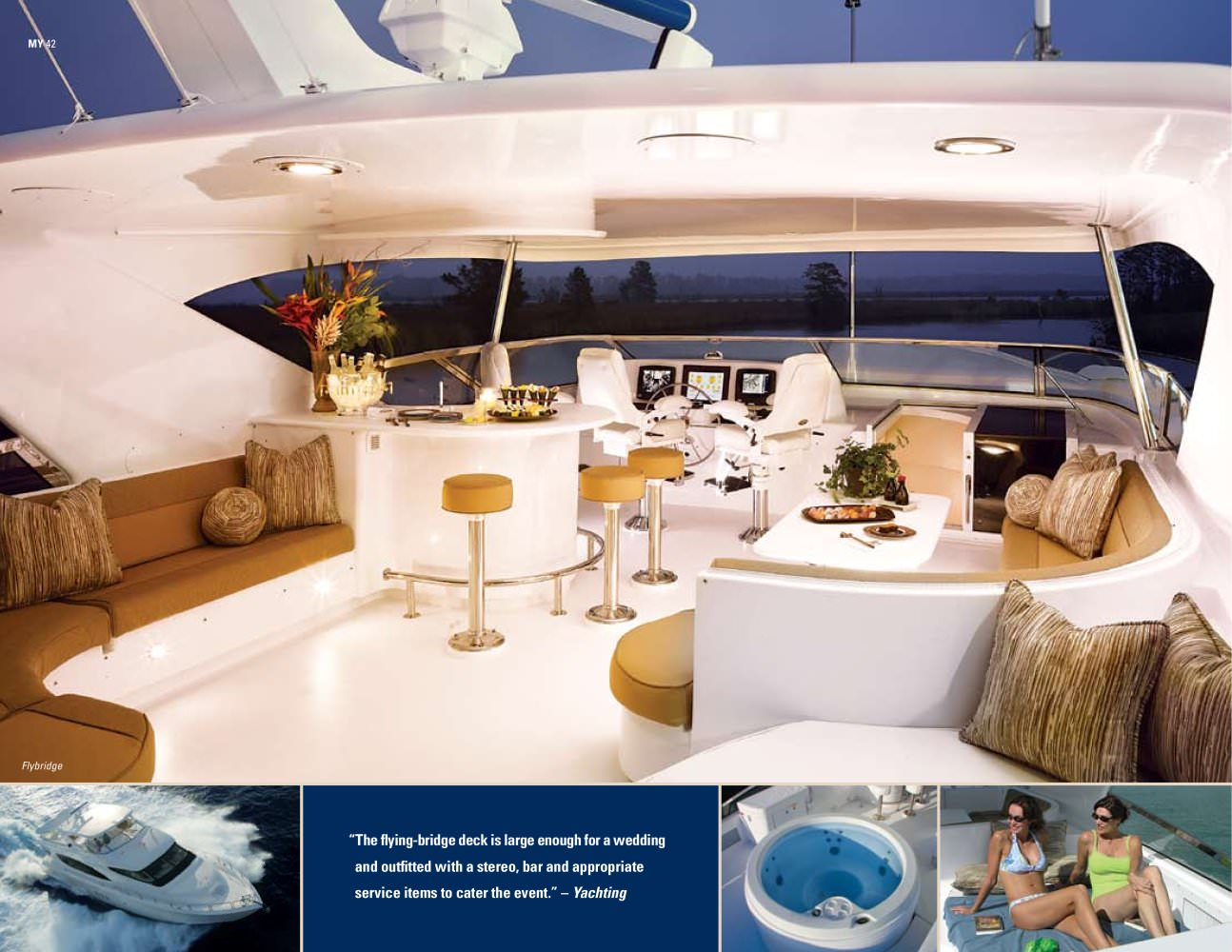 See other catalogues for Hatteras Yachts. You may also be interested in