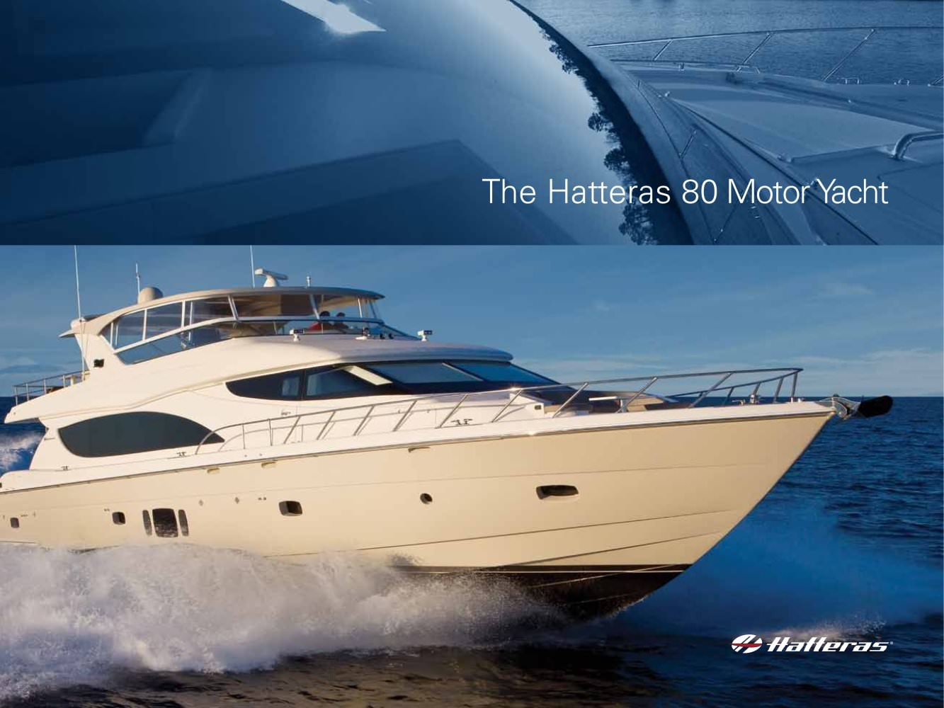 Hatteras MY 80 - 1 / 20 Pages