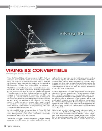 The Viking 82 Convertible