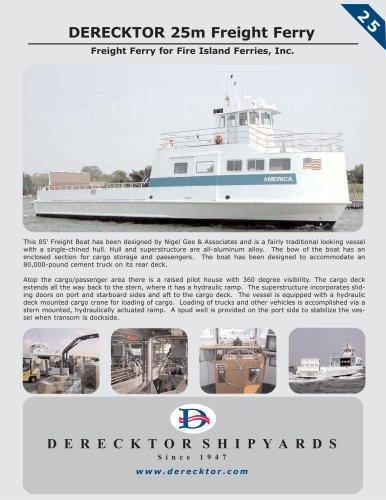 DERECKTOR 25m Freight Ferry