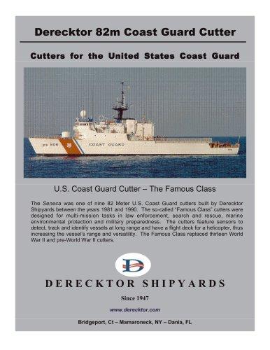 Derecktor 82m Coast Guard Cutter