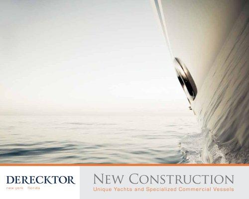 Derecktor New Construction - Derecktor - PDF Catalogs