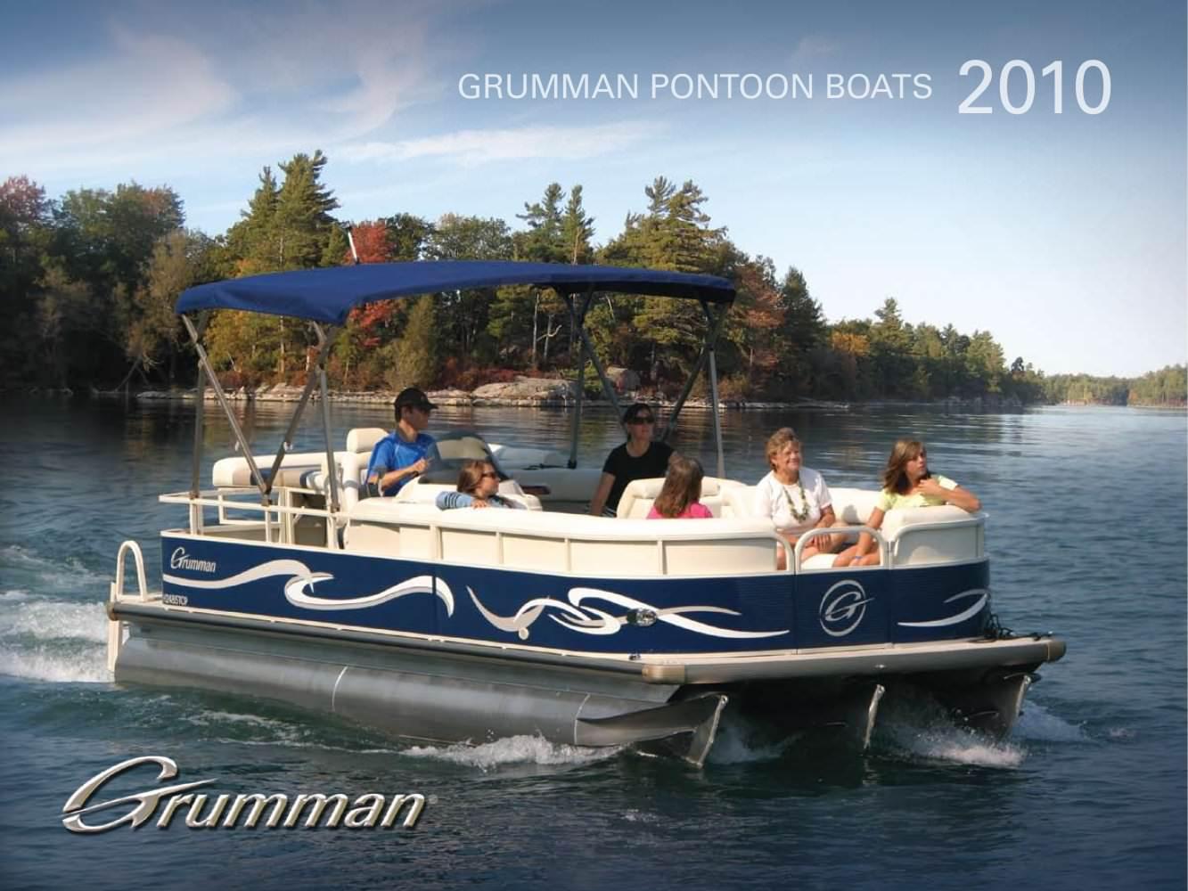 Grumman Pontoon Boats 2010 Marathon Pdf Catalogs Documentation