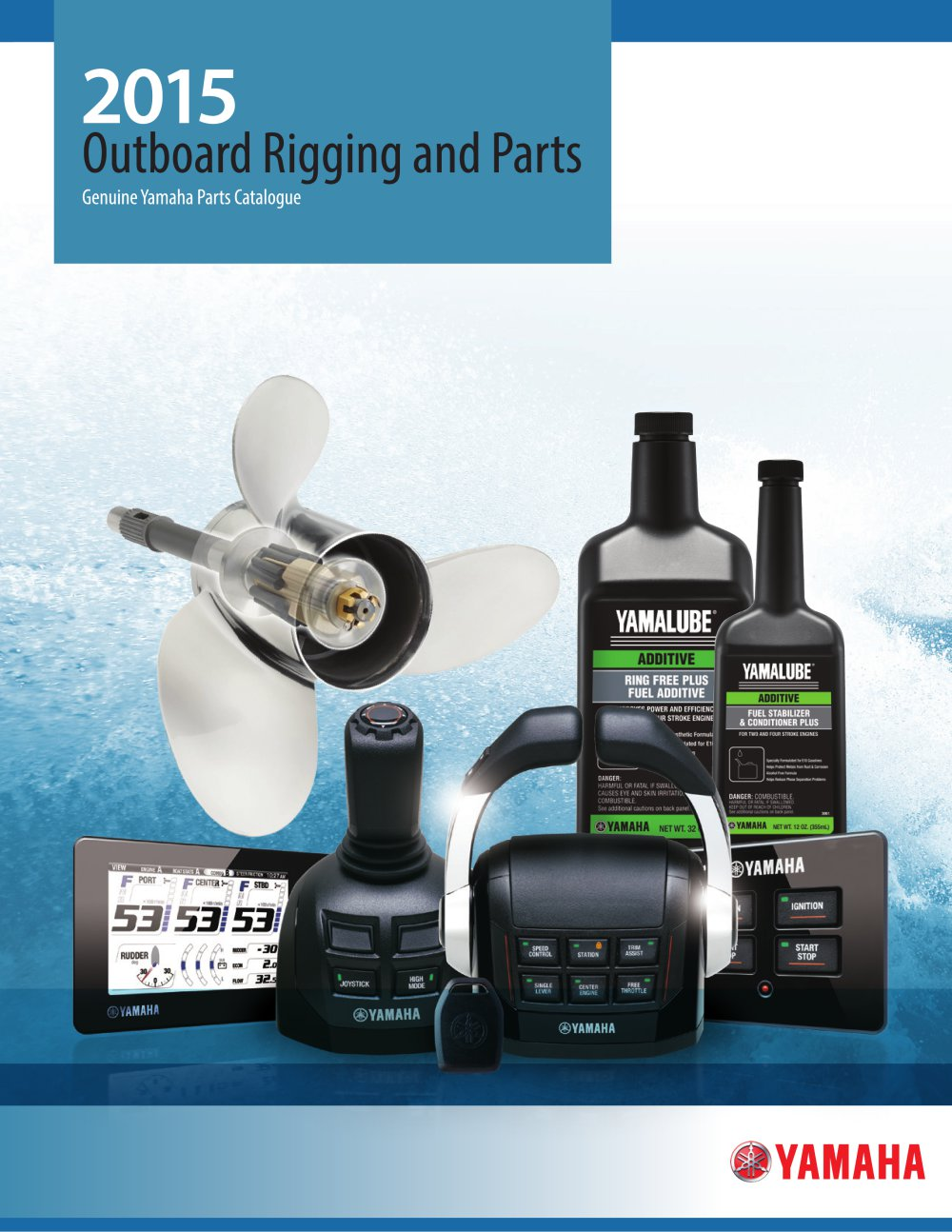 2015 Outboard Rigging And Parts Yamaha Motors Pdf Digital Tachometer Wiring Diagram Free Download 1 341 Pages