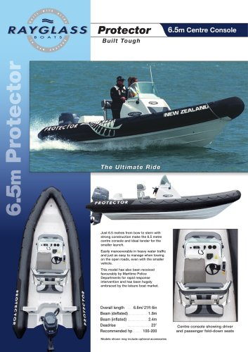 Protector 6 5M CC - Rayglass Boats - PDF Catalogs   Documentation