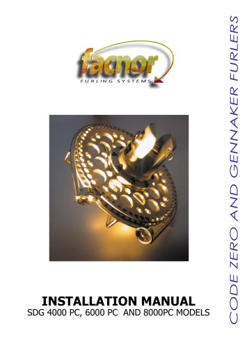 GENNAKER FURLERS 4000 - 6000 - 8000 PC