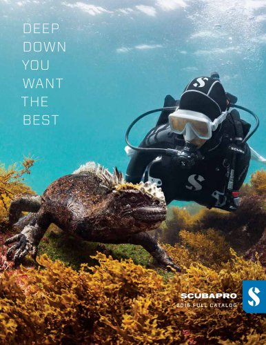 Scubapro 2016 Catalog