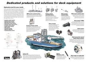 Dedicated products and solutions for Deck Equipment