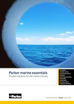 Parker marine essentials Product solutions for the marine industry