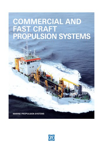 COMMERCIAL AND FAST CRAFT PROPULSION SYSTEMS