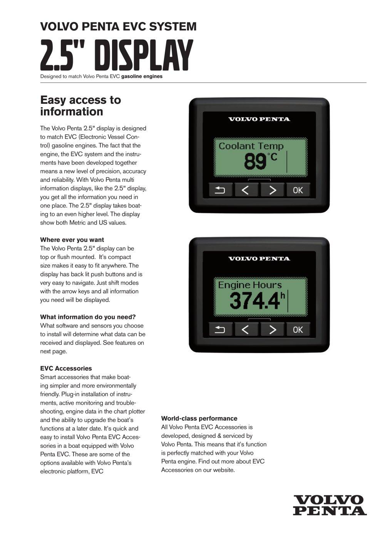 2 5 display volvo penta pdf catalogues documentation boating rh pdf nauticexpo com volvo penta d4 evc manual volvo penta d3 evc manual