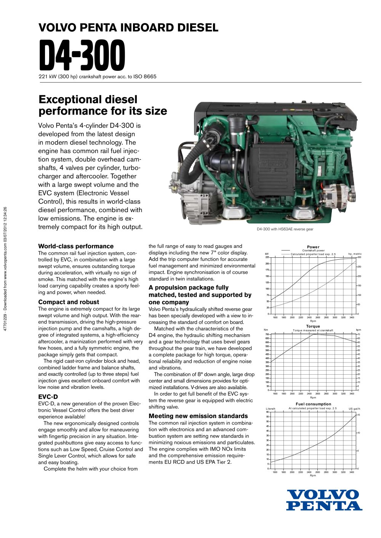 d4 300 volvo penta pdf catalogues documentation boating rh pdf nauticexpo com volvo penta d4 maintenance manual volvo d4 300 service manual