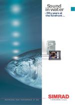 Sound in water (history of Simrad products)