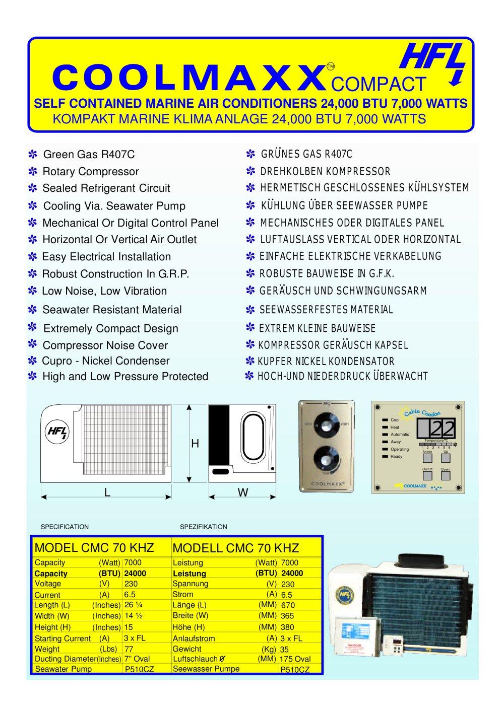 COOLMAX COMPACT 24 - HFL Power & Air GmbH - PDF Catalogues ...