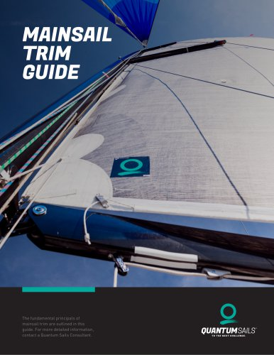 MAINSAIL TRIM GUIDE