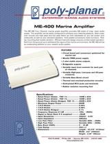 ME-400 Marine Amplifier