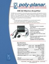 ME-52 Marine Amplifier