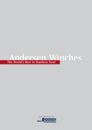 ANDERSEN Winches Main Catalogue