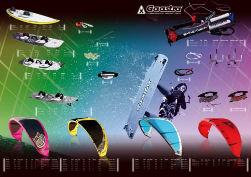 Gaastra Kite Brochure 2009