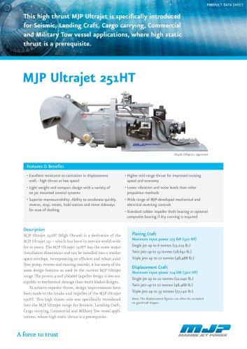 MJP Ultrajet 251HT