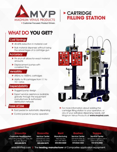 Cartridge Filling Station