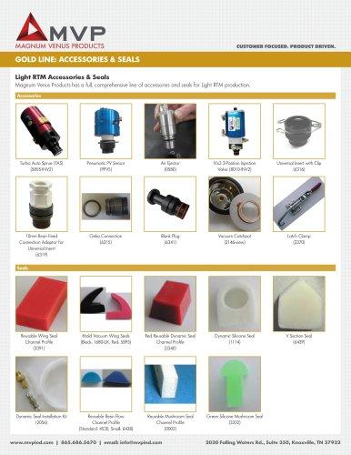 MVP Gold Line - Light RTM Accessories Seals