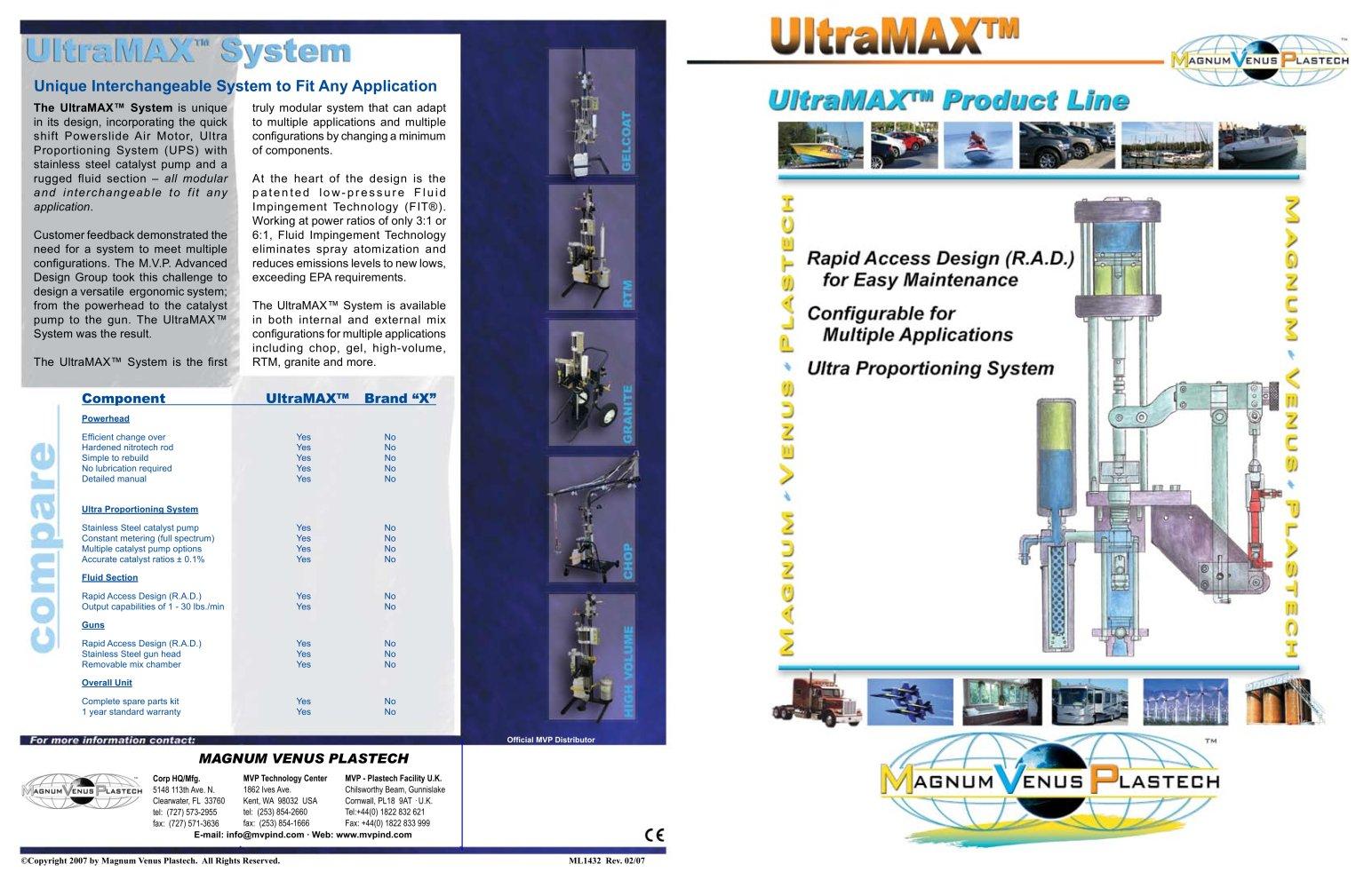 ultramax 11x17 brochure ml1432 magnum venus products pdf