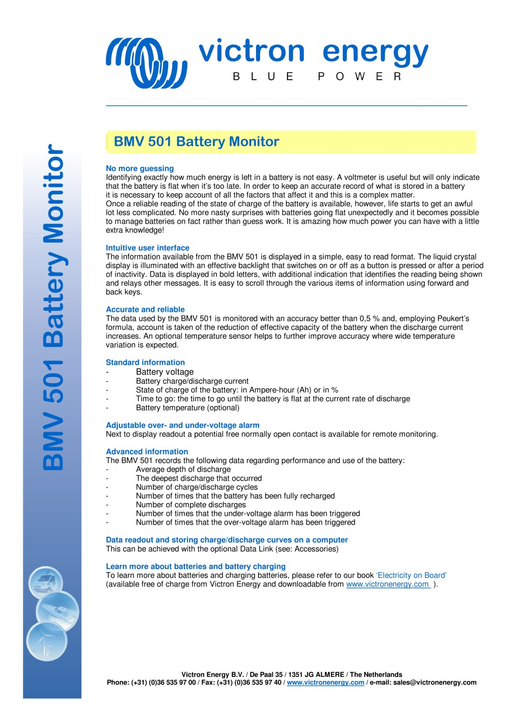 Battery Monitor Victron Energy Pdf Catalogues Documentation Over Under Voltage 1 2 Pages