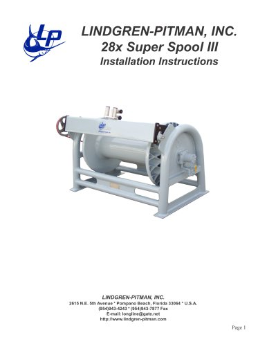 28x Installation Instructions - Lindgren-Pitman - PDF