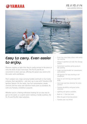 Yamaha-2012-F6--F5--F4 - Yamaha Motor Europe - Marine - PDF Catalogs