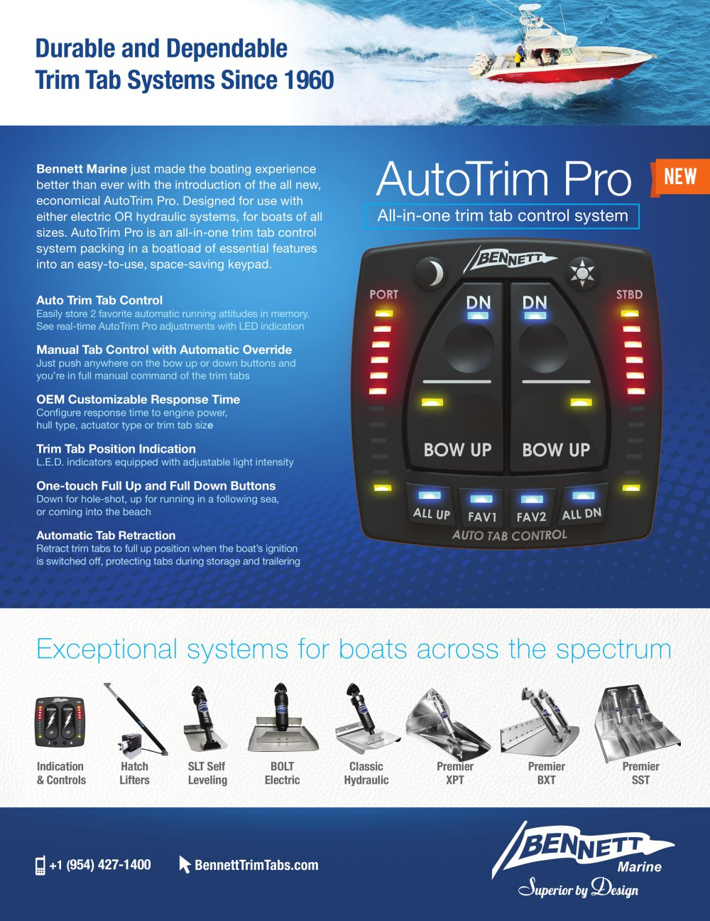 Bennett Auto Trim Tabs Manual Atc Automatic Tab Controller Installation In A Boat Autotrim Pro 1 Pages