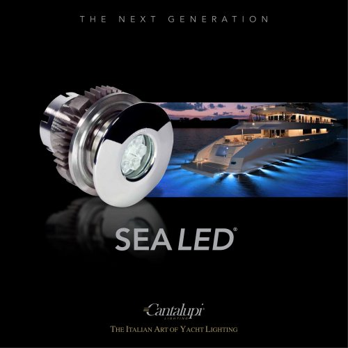 Cantalupi Lighting SEA LED® Catalogue