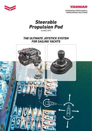 Steerable Propulsion Pod