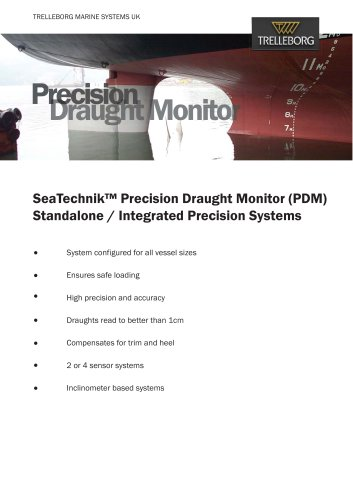 SeaTechnik Precision Draught Monitor (PDM)