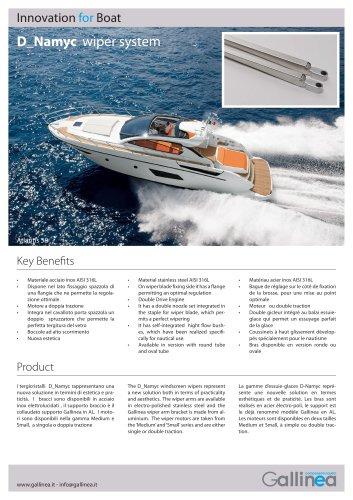 Windscreen D-Namyc