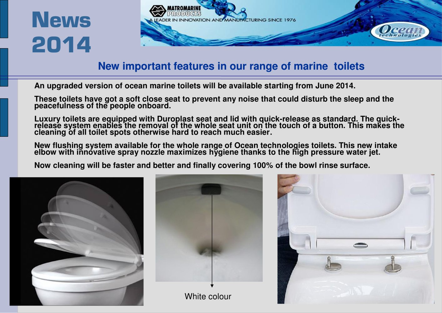 soft touch toilet seat. soft close toilets  1 2 Pages Matromarine Products PDF Catalogues