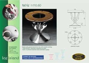 table model TI 110.60